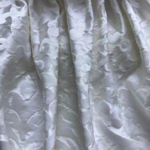 Портьеры готовые белые по распродаже со скидкой