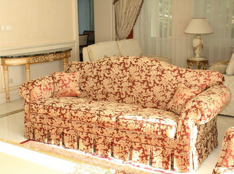 Перетяжка дивана, мебельные чехлы