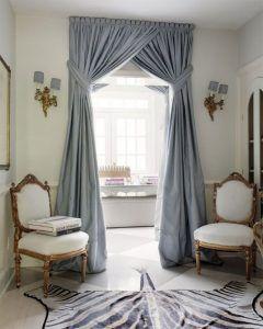 Итальянские шторы на дверной проем