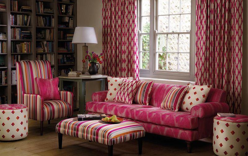 Текстильное оформление в доме