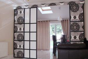 Японские панели-шторы для разделения пространства на зоны