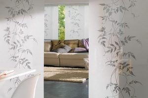 Японские шторы в интерьере, фото
