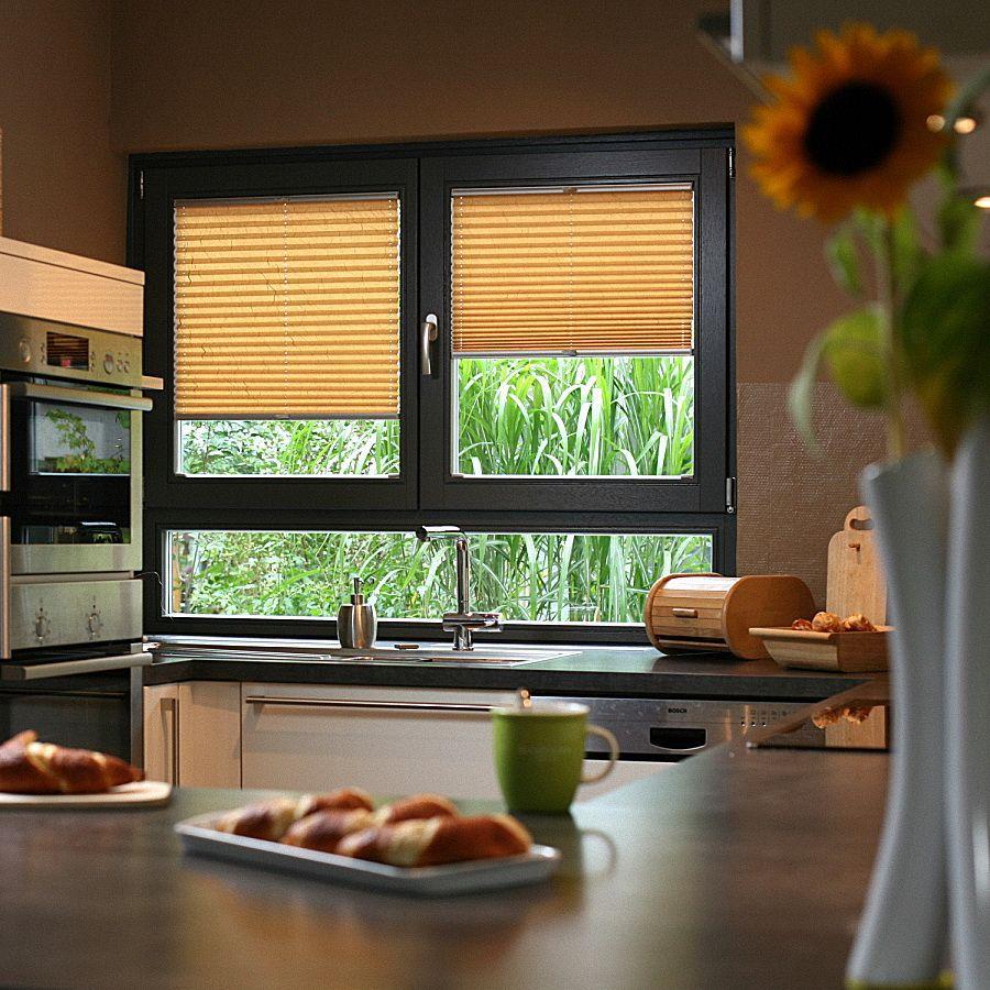 Жалюзи-плиссе на кухню