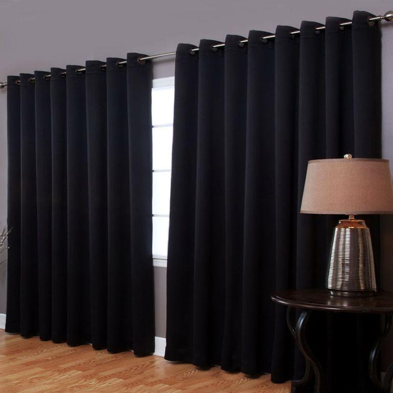 Черные шторы блэкаут