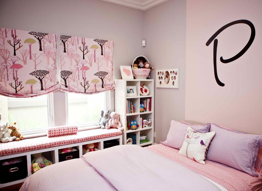 Шторы для комнаты девочки-подростка