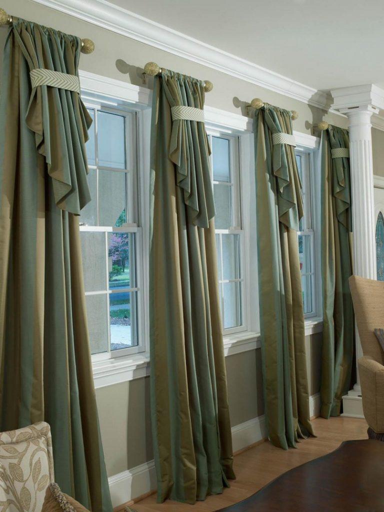 Декоративные шторы на заказ недорого