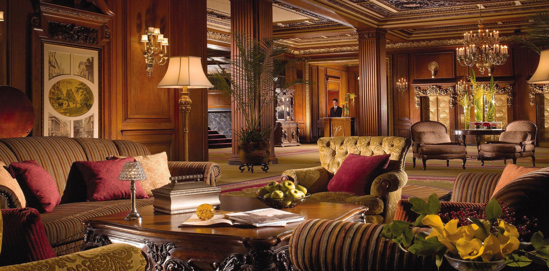 Текстиль для холла отеля