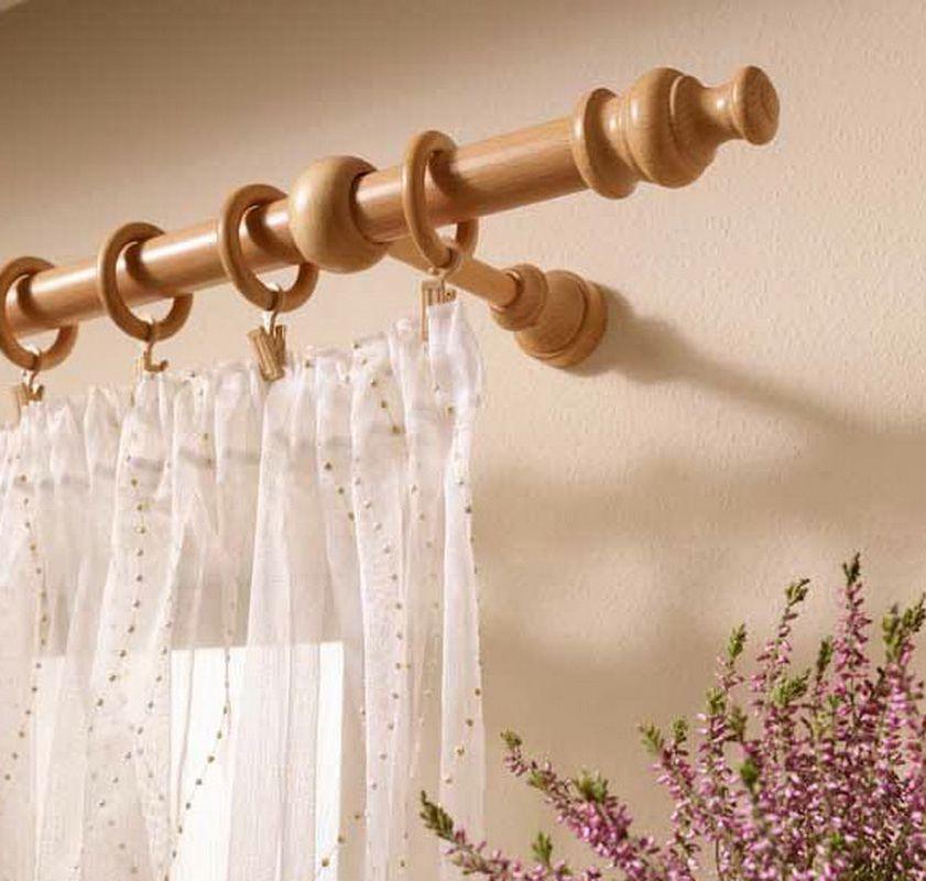Деревянные кольца для штор
