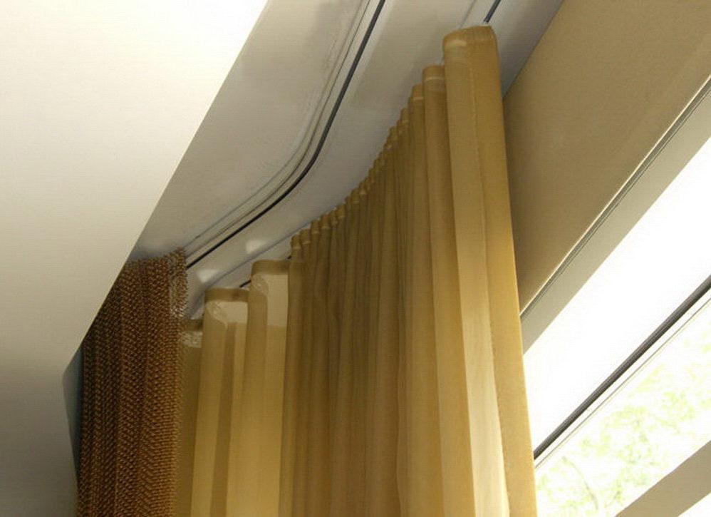 Карниз алюминиевый профильный потолочный